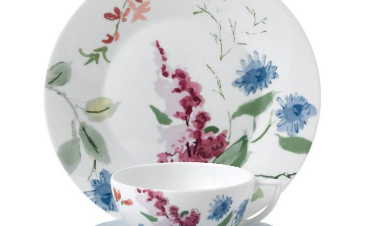 Jasper Conran Floral Teapot Table