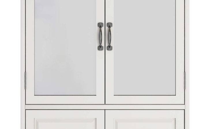 John Lewis Apothecary Double Mirrored Bathroom Cabinet