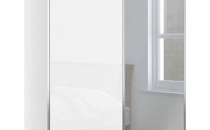 John Lewis Elstra Wardrobe Glass Mirrored