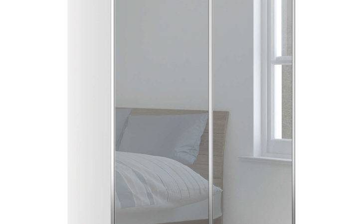 John Lewis Elstra Wardrobe Mirrored Sliding