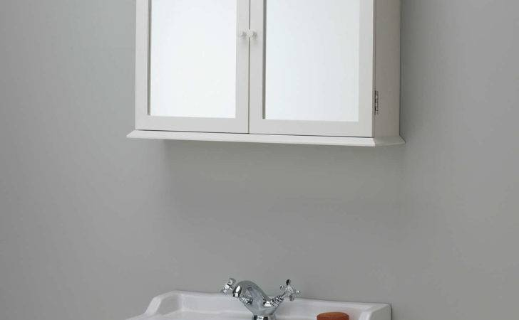 John Lewis Ives Double Mirrored Bathroom Cabinet