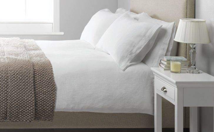 John Lewis Washed Linen Duvet Cover White Review