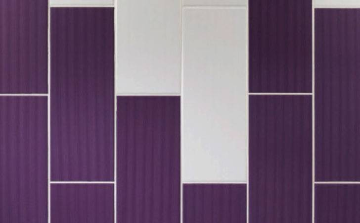 Johnson Vvd Vivid Purple Gloss Brick Ceramic Wall Tile