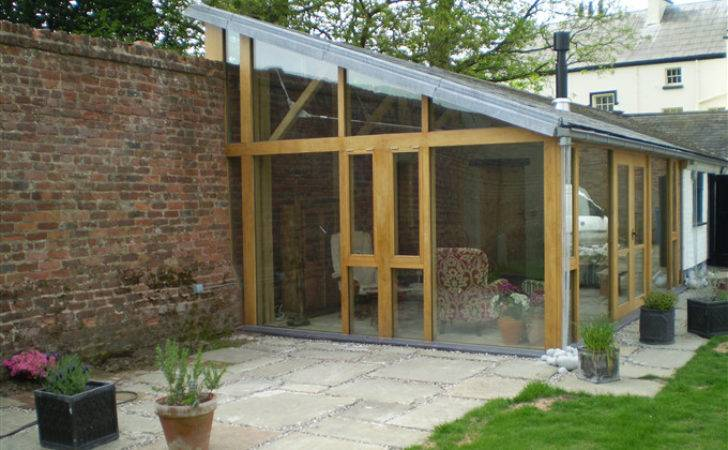 Joinery Building Glass Fronted Garden Room