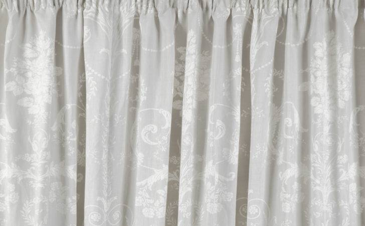Josette Dove Grey Ready Made Curtains Laura Ashley