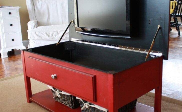 Just Laine Amazing Red Coffee Table