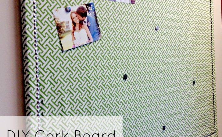 Kansas Gal Diy Fabric Covered Cork Board