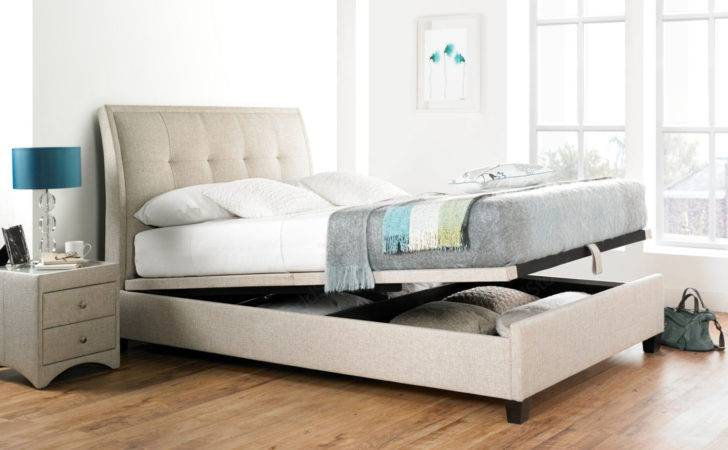 Kaydian Accent Upholstered Ottoman Bed Frame
