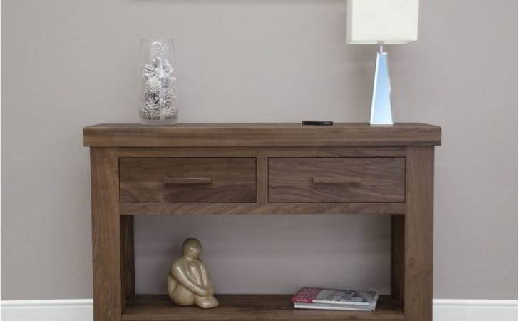 Kendo Solid Modern Walnut Furniture Hallway Console Hall
