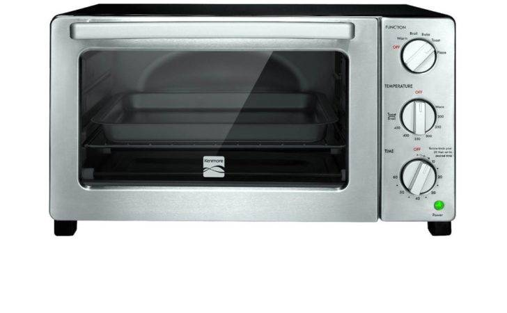 Kenmore Slice Black Convection Toaster Oven