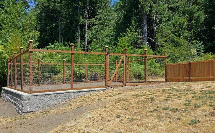 Kennel Fence Ajb Landscaping