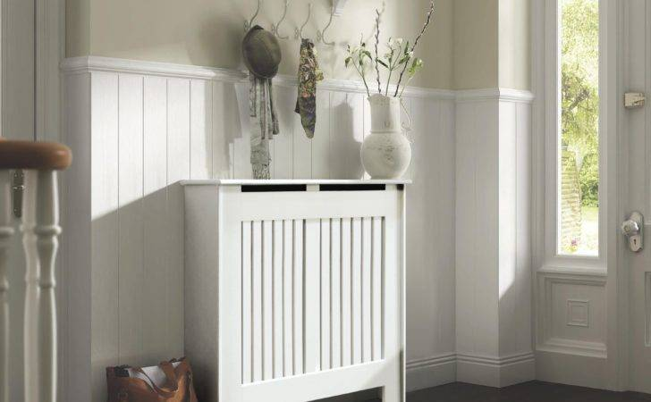 Kensington Small White Painted Radiator Cover