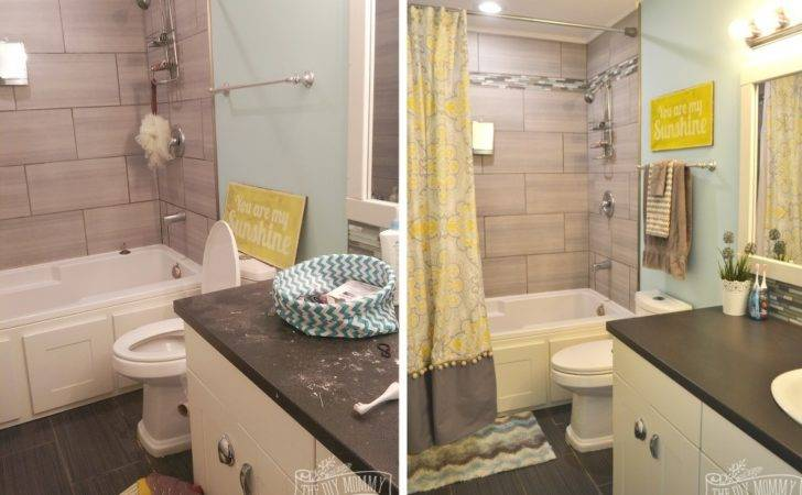 Kids Bathroom Reveal Some Great Tips Post Reno