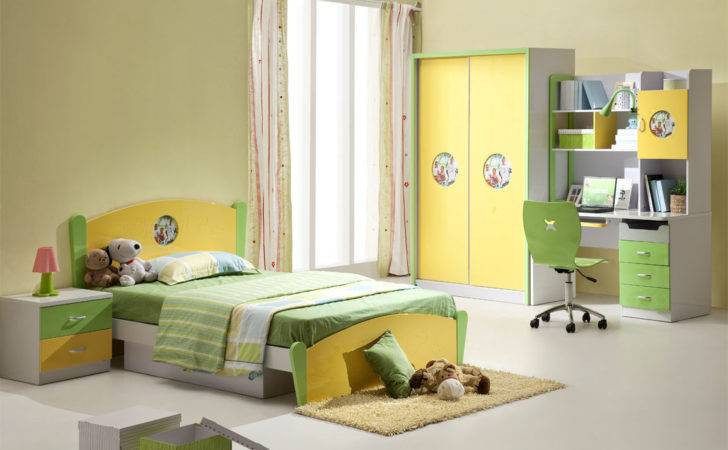 Kids Bedroom Furniture Designs Interior Design