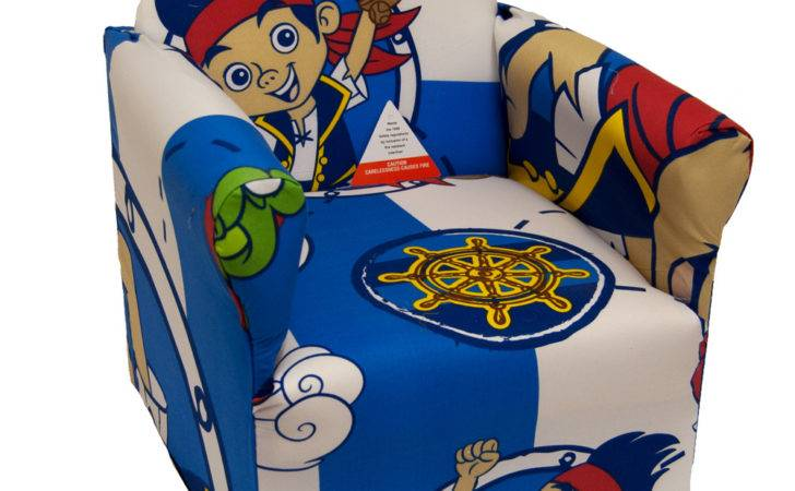 Kids Cartoon Character Children Chair Armchair Playroom