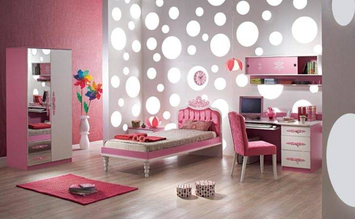 Kids Cartoon Decorating Ideas Girl Rooms