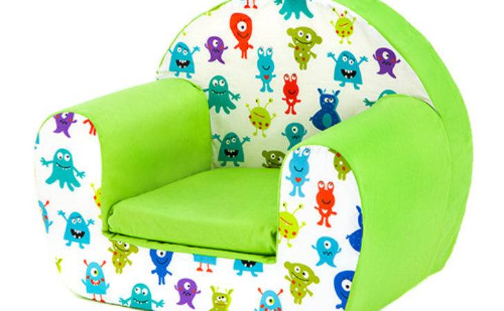 Kids Children Comfy Soft Foam Chair Toddlers Armchair