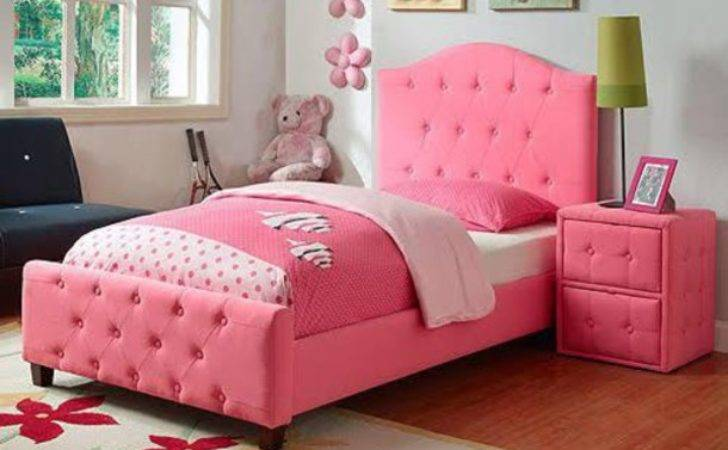Kids Fashion Bedroom Girly Pink Bedding Home