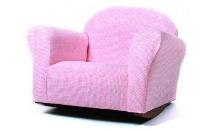 Kids Rocking Chair Girls Pink Chairs Bedroom Playroom