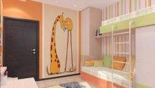 Kids Room Decorating Ideas Young Boy Girl Sharing