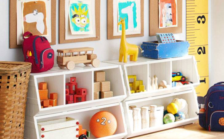 Kids Storage Solutions Organizing Rooms
