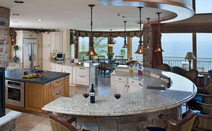 Kitchen Awesome Inspiring Unique Island