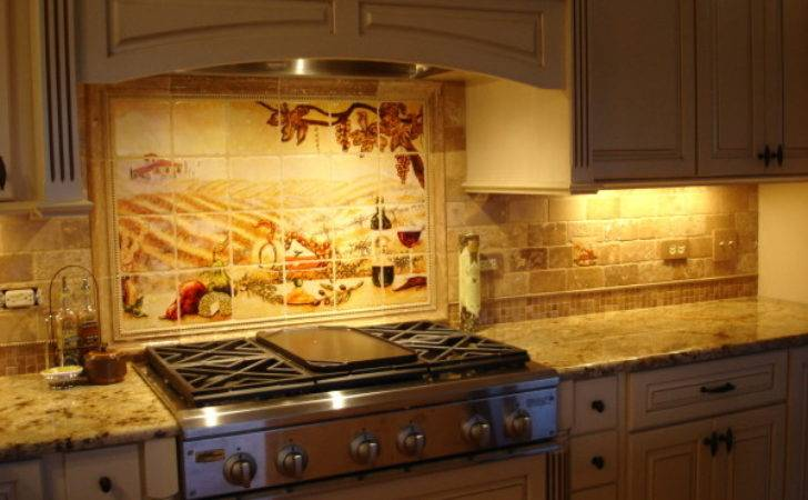 Kitchen Backsplash Tile Mosaic Art Home Design Examples