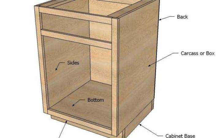 Kitchen Base Cabinets Ana White Woodworking Projects