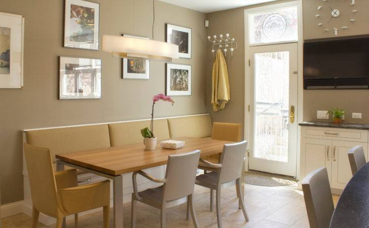 Kitchen Bench Seat Transitional Banquette