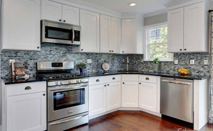 Kitchen Cabinets Light Grey Walls White Custom
