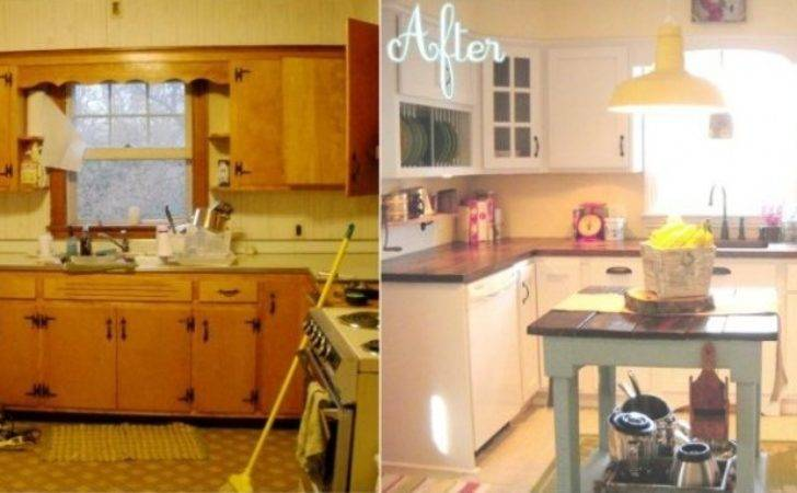 Kitchen Country Style Makeovers Budget Ideas