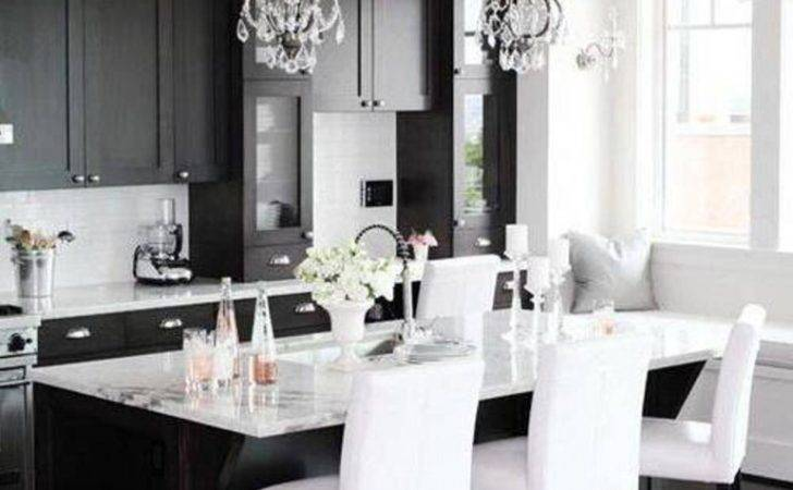 Kitchen Decor Black White Design Ideas
