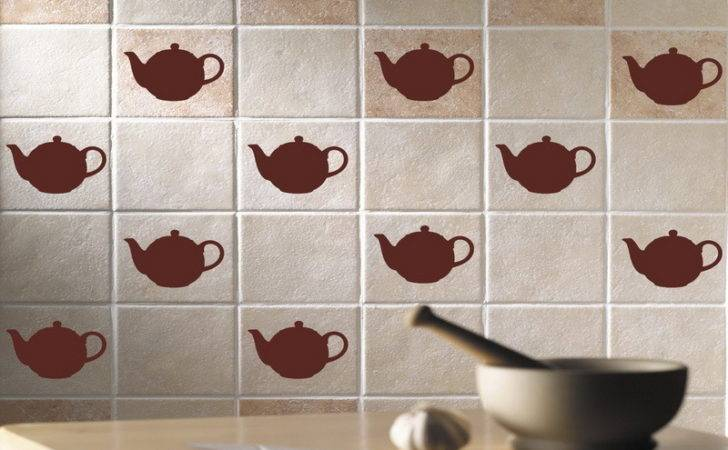 Kitchen Decorative Tile Decals Ideas Wall