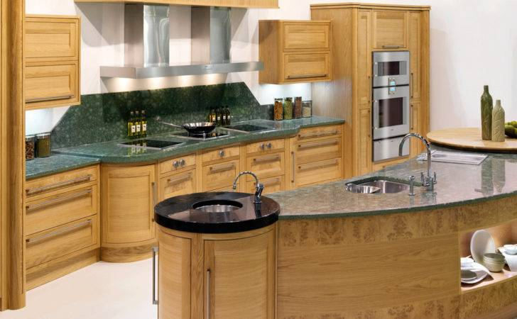 Kitchen Dining Curved Island Makes Shape