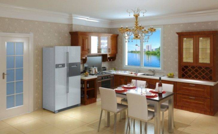 Kitchen Dining Room Interior Layout House