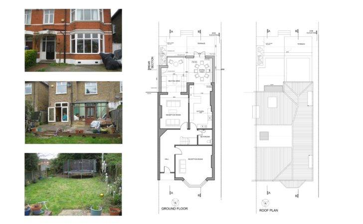 Kitchen Extension Drawings Modern House