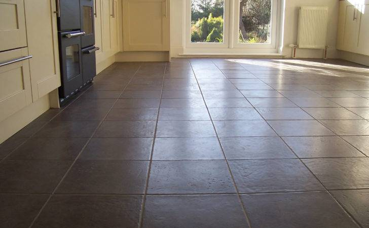 Kitchen Flooring Options Show Elegant Appearance