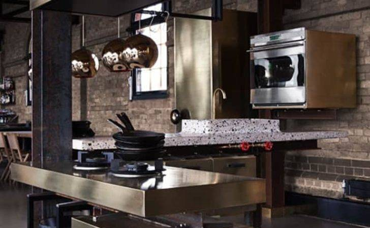 Kitchen Industrial Look Designed Tom Dixon