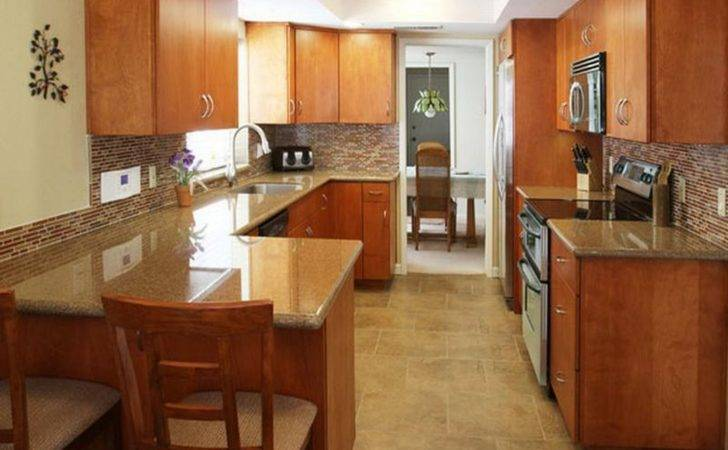 Kitchen Inspiring Best Small Shaped Floor