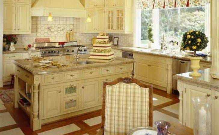 Kitchen Large French Country