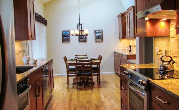 Kitchen Luxurious Galley Remodel