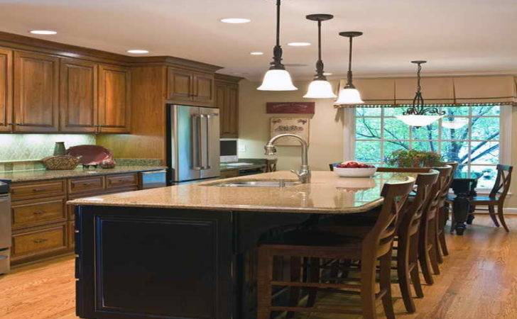 Kitchen Seating Island Small Dining Room