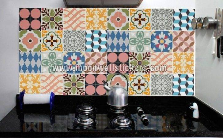 Kitchen Tiles Stickers Traditional
