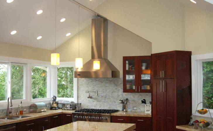 Kitchen Vaulted Ceilings