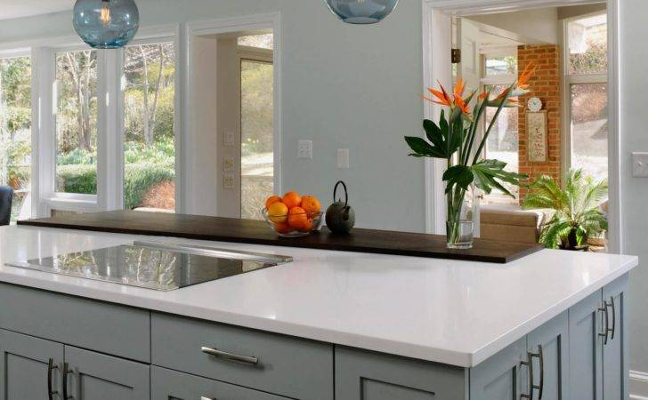 Kitchen Warm Your Popular Gray Cabinets