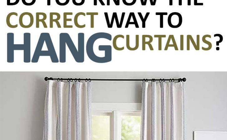Know Correct Way Hang Curtains