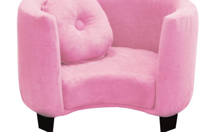 Komfy Kings Kids Comfy Chair Pink Micro