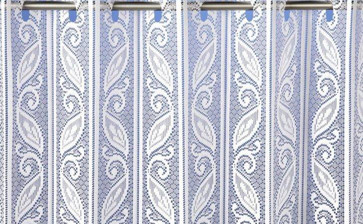 Lace Pleated Vertical Louvre Blind Window White Cream