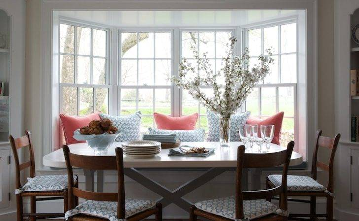 Ladder Back Chairs Transitional Dining Room Kerry