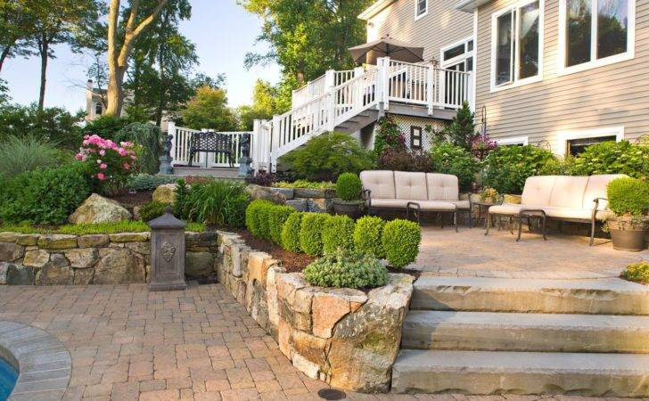 Landscaping Ideas Front Yard Pavers Garden Inspirations